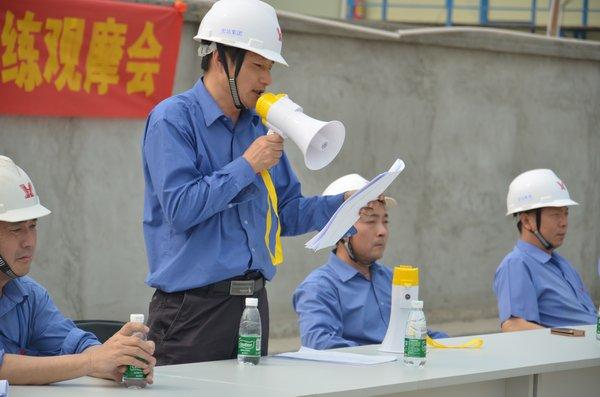广东宏达建设工程有限公司举行施工安全事故应急演练