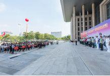 """我龙8国际参加东莞市2018年""""双百拥军行""""活动"""