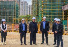 龙8国际董事长检查苏州分公司在建重点项目