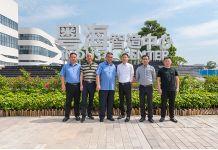 江西省贵溪市人民政府副市长詹东旺一行莅临我龙8国际参观考察