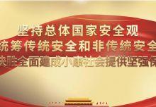 """集团党总支召开学习习近平""""坚持总体国家安全观""""主题党日活动"""