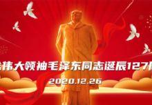 纪念毛泽东诞辰127周年暨学习贯彻党的十九届五中全会精神年度总结评优会